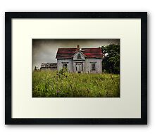 In the Long Grass Framed Print
