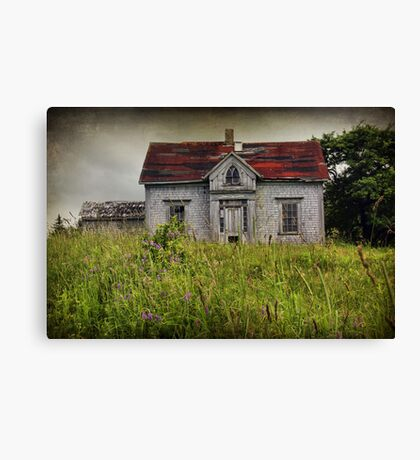 In the Long Grass Canvas Print