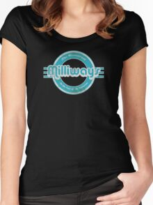 Milliways! Women's Fitted Scoop T-Shirt