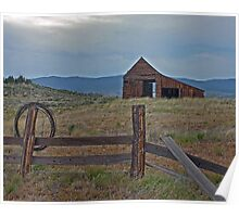 The Old Barn HDR Poster
