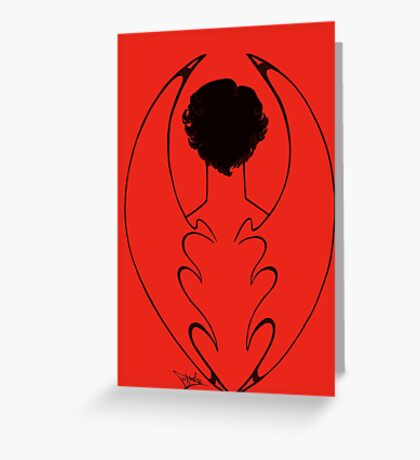 The Dragon Greeting Card