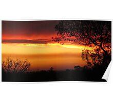 Stunning & Vivid Sunset Poster