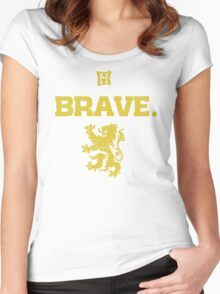 Gryffindor. Brave. Women's Fitted Scoop T-Shirt