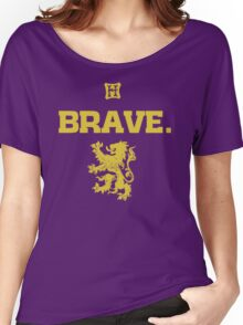 Gryffindor. Brave. Women's Relaxed Fit T-Shirt