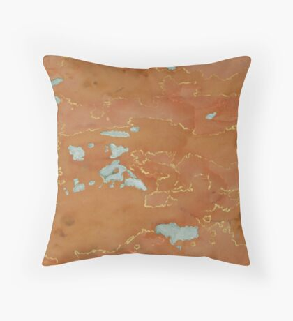 """Inland Ocean"" Throw Pillow"
