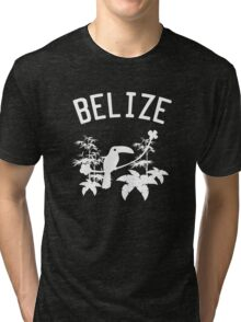 Belize Birds and Rainforest Tri-blend T-Shirt