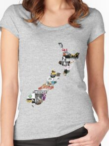 NZ Craft Beer Women's Fitted Scoop T-Shirt