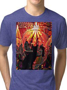 the black cat dance party Tri-blend T-Shirt