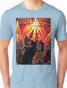 the black cat dance party Unisex T-Shirt