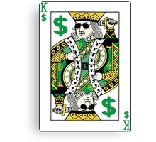 King Swag Money Canvas Print