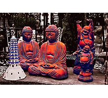 The Magic Buddhas Photographic Print