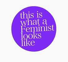 This is what a Feminist looks like PURPLE Mens V-Neck T-Shirt