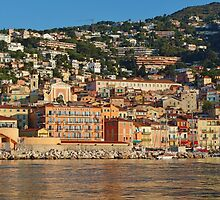 Villefranche-sur-mer, French Riveria by roger smith
