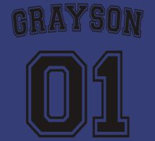 Dick Grayson Sports Jersey by krowe