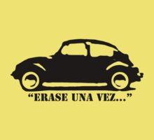 "VW Beetle - ""Erase Una Vez..."" Kids Tee"