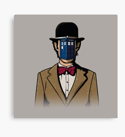 Doctor Magritte Canvas Print