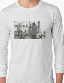 Clingan Guitar Tone - Pencil Sketch - Alford Long Sleeve T-Shirt