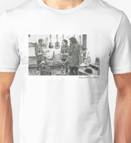 Clingan Guitar Tone - Pencil Sketch - Alford T-Shirt