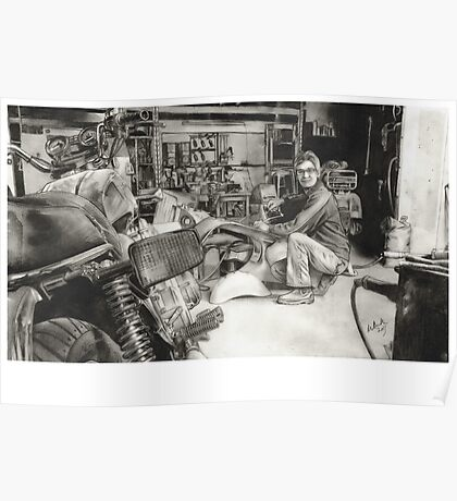 Joe - Vespa Repairs and Restorations Poster