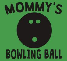 Mommy's Bowling Ball Baby Tee