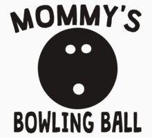 Mommy's Bowling Ball One Piece - Long Sleeve
