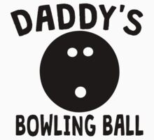 Daddy's Bowling Ball One Piece - Long Sleeve