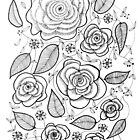 Roses iphone case by marlene veronique holdsworth