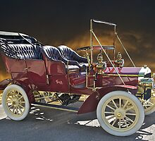 1906 Buick Touring Car by DaveKoontz