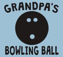Grandpa's Bowling Ball Baby Tee