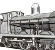 4-4-0 Compound Steam Locomotive Sticker