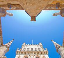 belem tower cloister. by terezadelpilar~ art & architecture