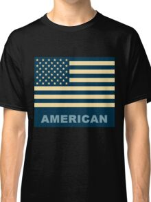 American Flag Vintage Classic T-Shirt