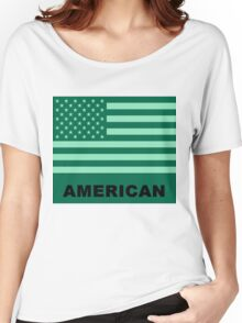 American Flag Vintage 2 Women's Relaxed Fit T-Shirt