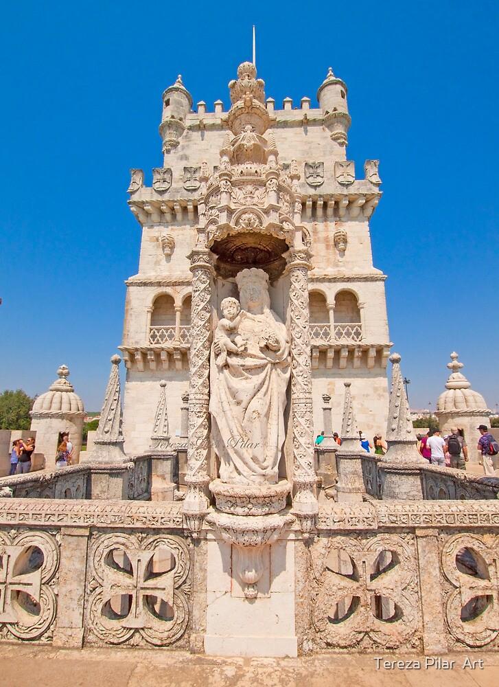 Sta Maria de Belém. Torre. by terezadelpilar ~ art & architecture