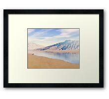 Sandstone Mountains Framed Print