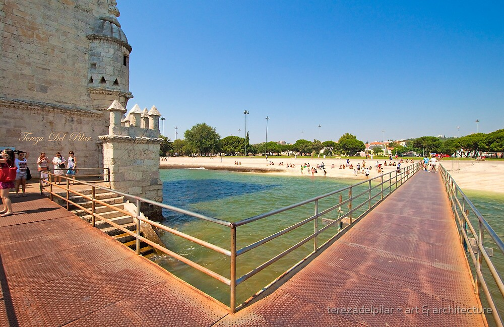 bridge access to the tower by terezadelpilar ~ art & architecture