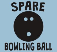 Spare Bowling Ball One Piece - Short Sleeve