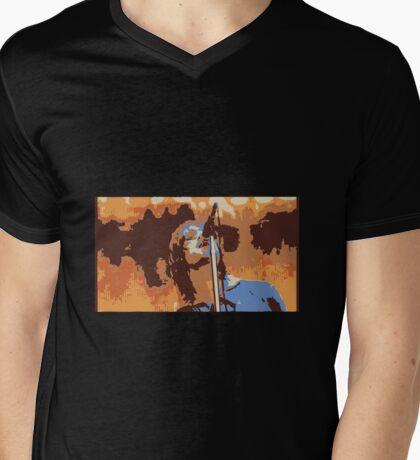 LIAM Mens V-Neck T-Shirt