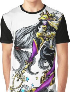 Sakuyamon - Digimon inspired art Graphic T-Shirt