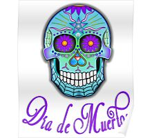 Day Of The Dead Sugar Skull Poster