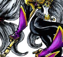 Sakuyamon - Digimon inspired art Sticker