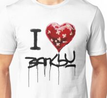 I love banksy Unisex T-Shirt