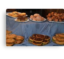 Goodies For  Sale At Mulberry Manor -Lyme Canvas Print
