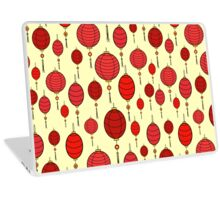 Cute chinese red lanterns Laptop Skin
