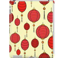 Cute chinese red lanterns iPad Case/Skin