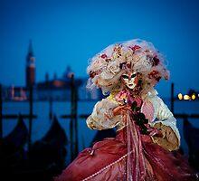 Venice Carnevale 6 by Lidia D'Opera