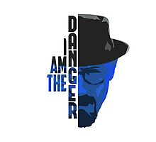 I am the DANGER - Blue Photographic Print