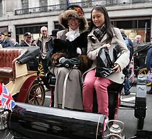 1903 Oldsmobile at the Regent Street Motor Show 2013 by Keith Larby