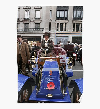 1902 Deckert at the Regent Street Motor Show 2013, Poster