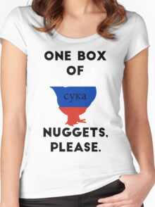 Cyka Nuggets Women's Fitted Scoop T-Shirt
